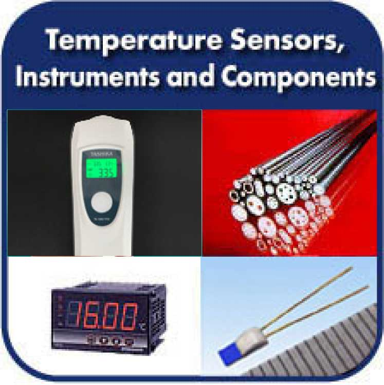 Temperature sensors & instruments