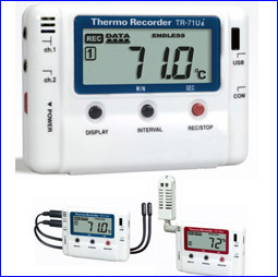 Ondotori Thermo-recorders / Data Loggers